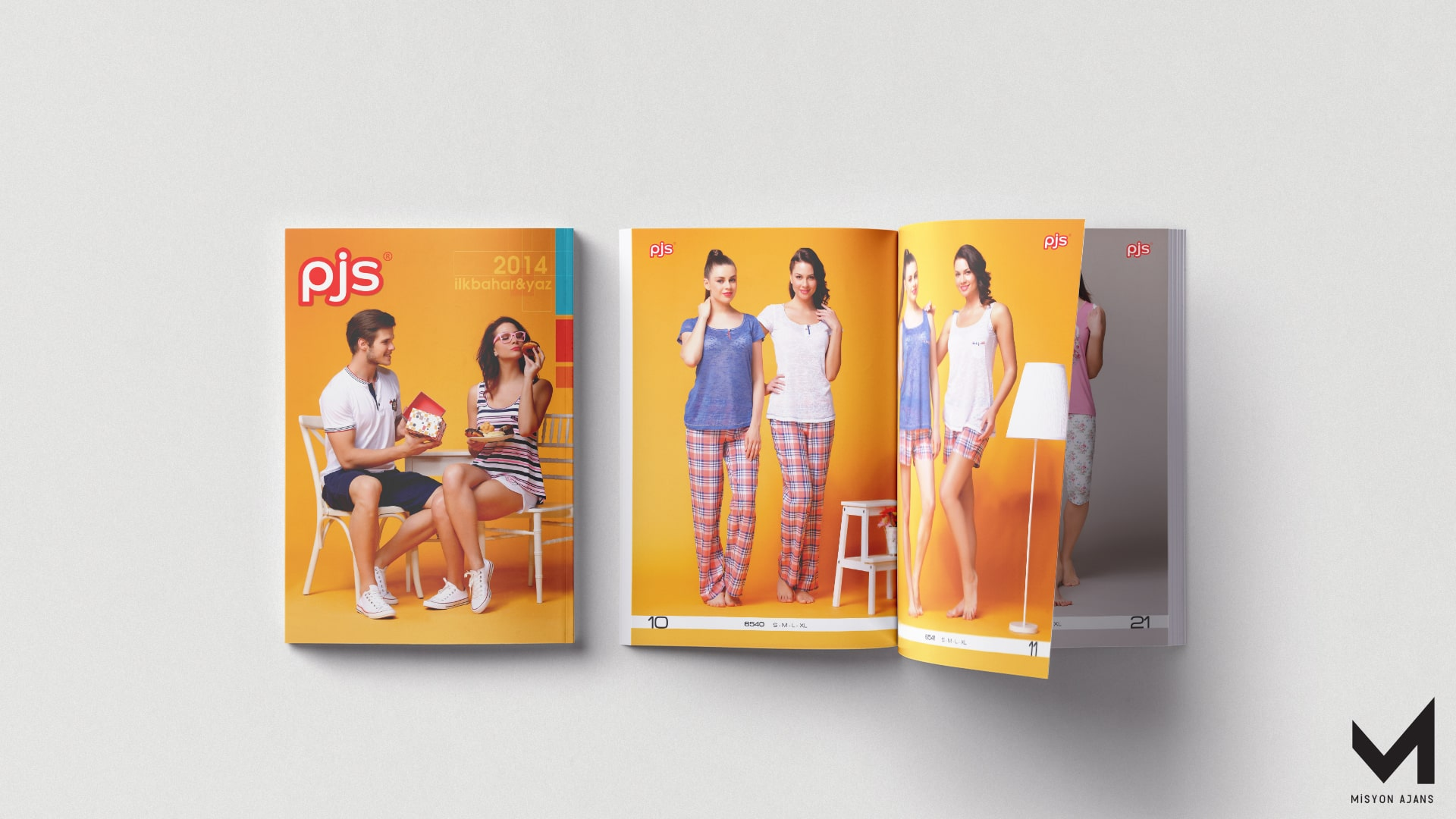 PJS Pijama Katalog Çalışması