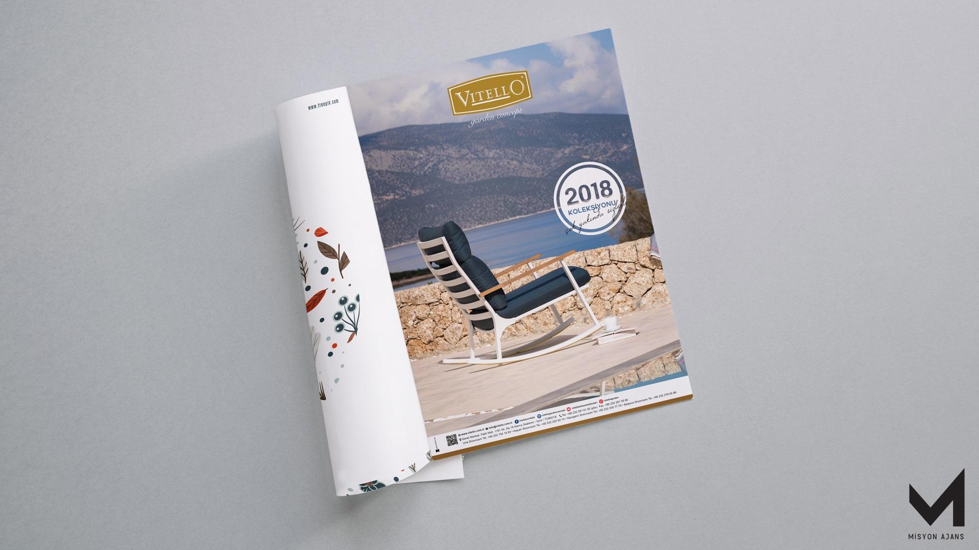 Vitello Dergi İlanı Çalışması