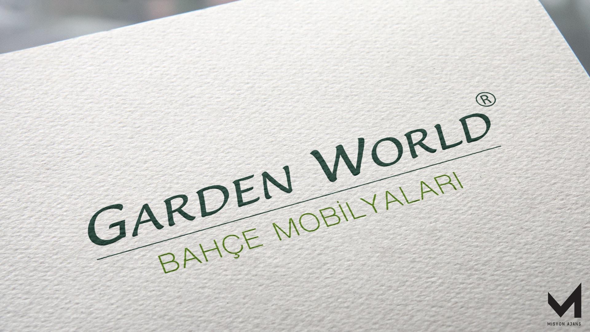 Garden World Kurumsal Kimlik Çalışması