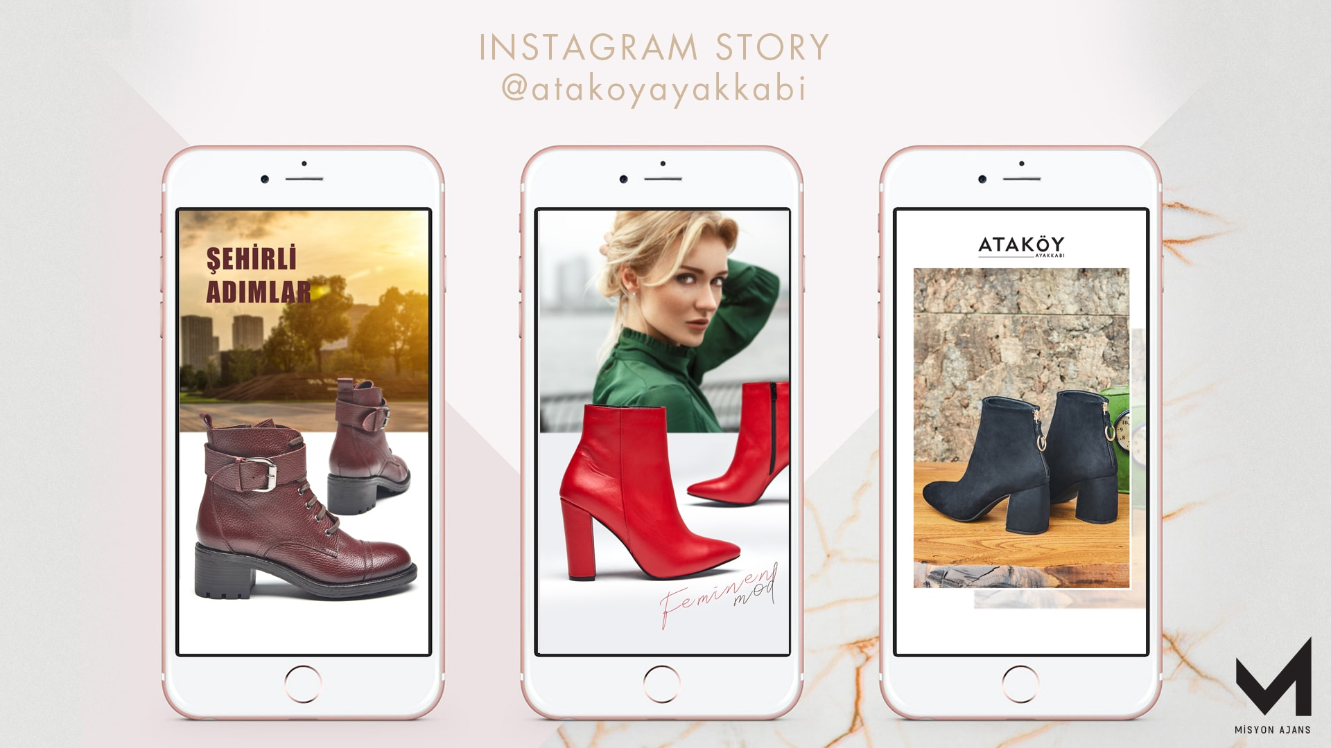 Ataköy Ayakkabı İnstagram Story