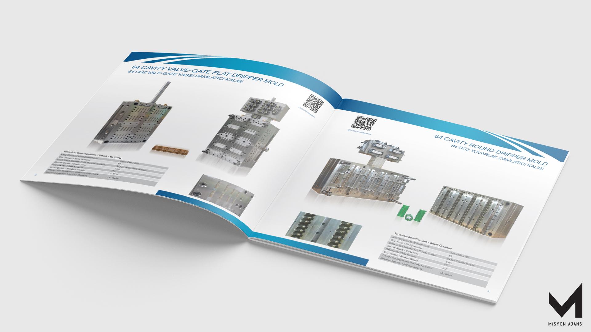 Beşok Kalıp ve Plastik Katalog Tasarımı