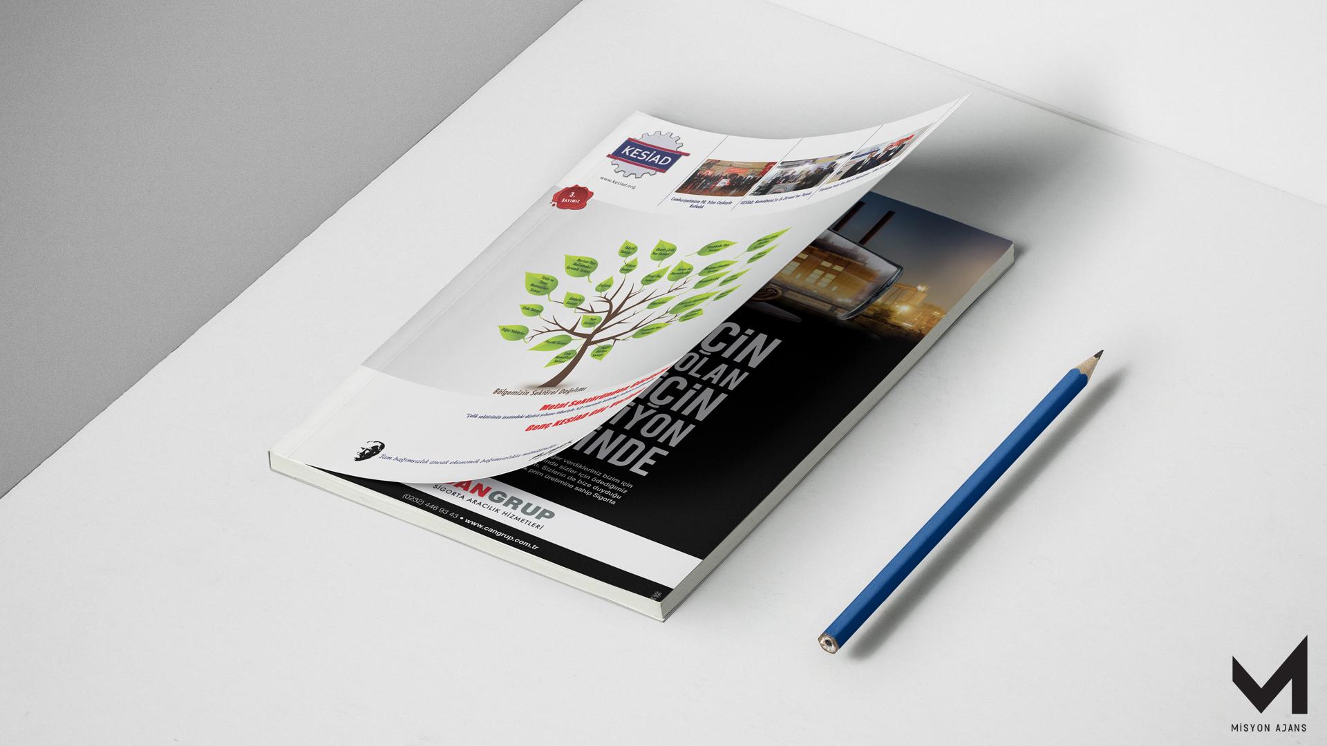 KESİAD Dergi Tasarımı