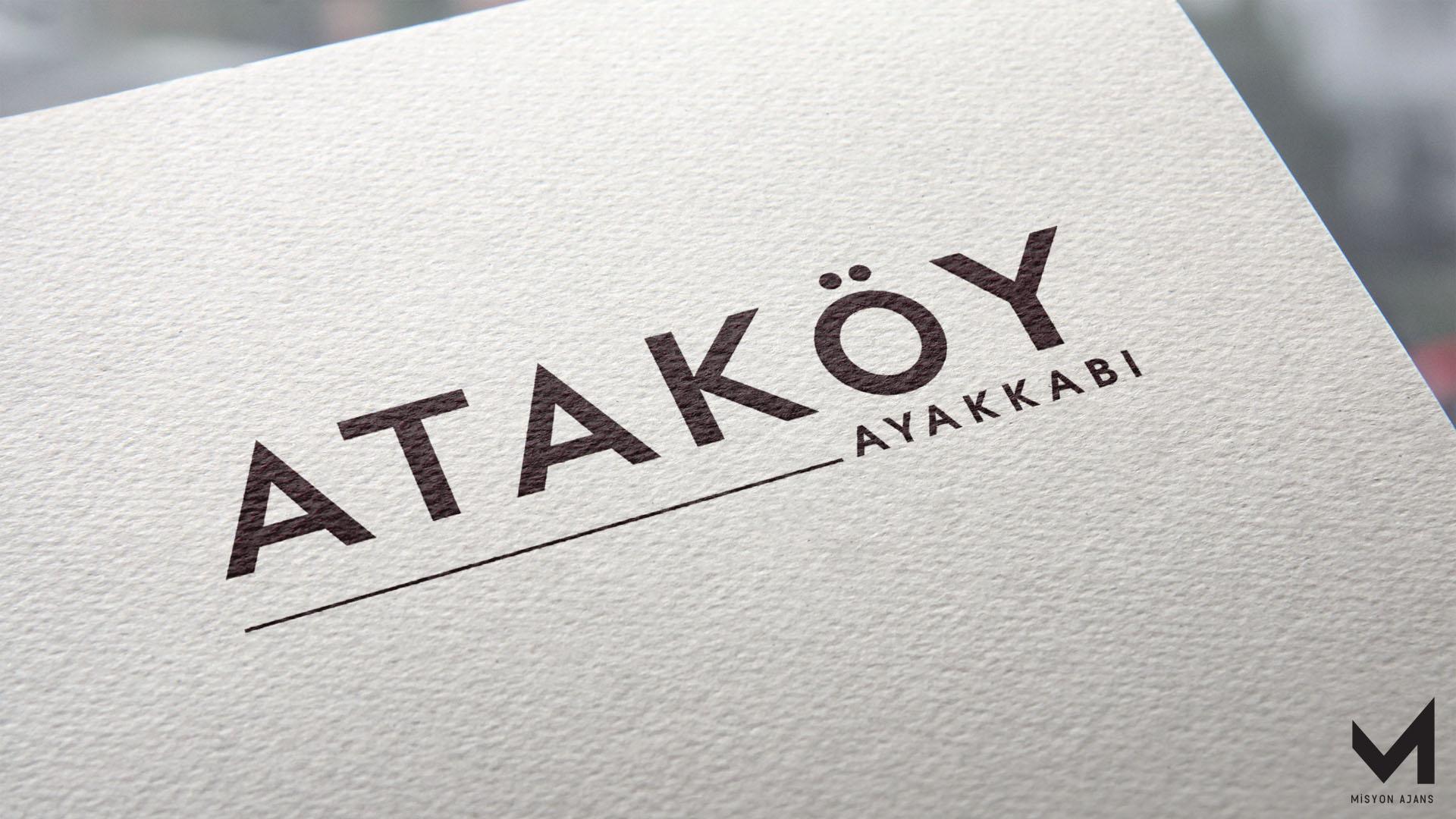 Ataköy Ayakkabı Logo Tasarım