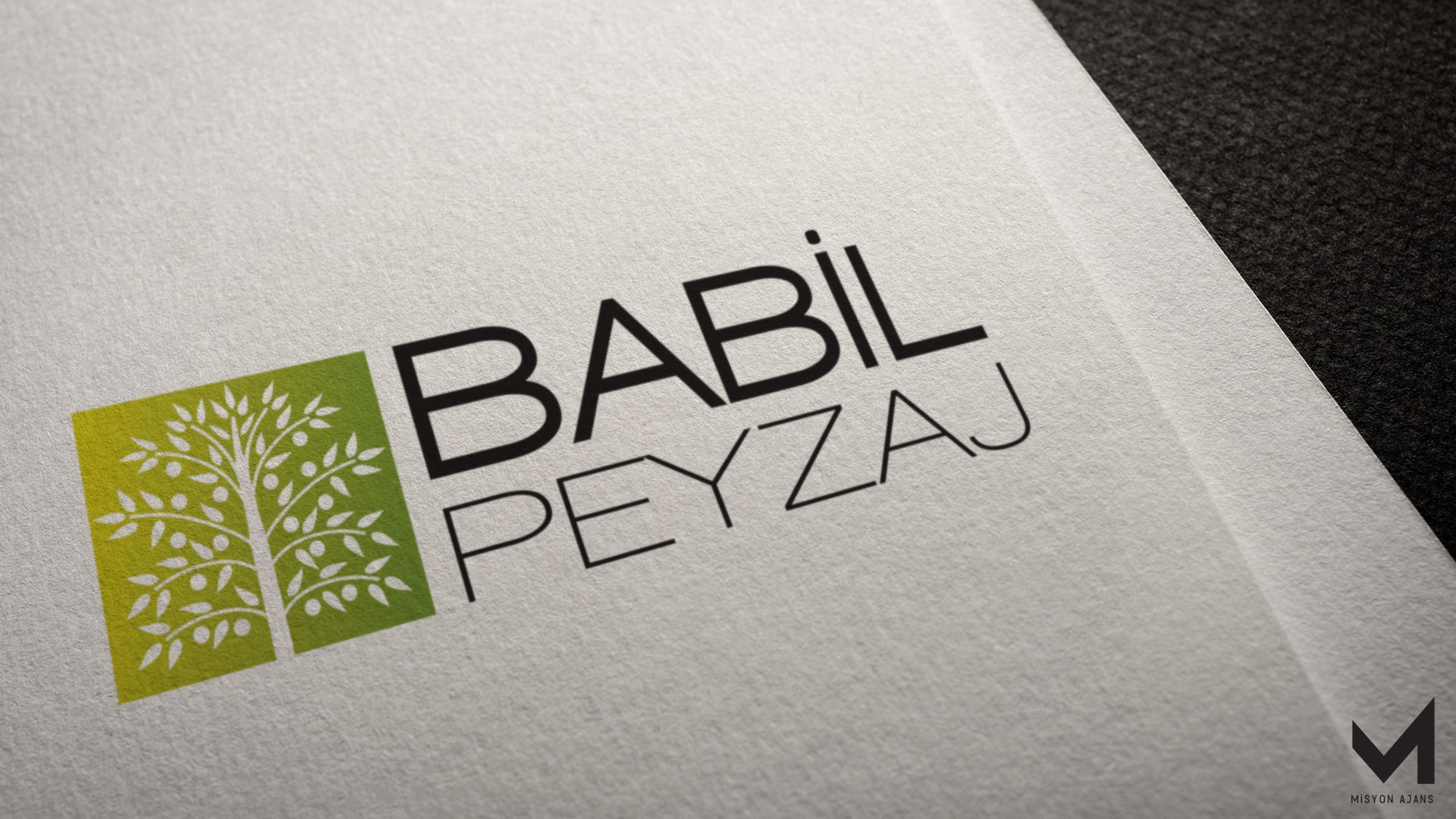 Babil Peyzaj Logo Tasarım
