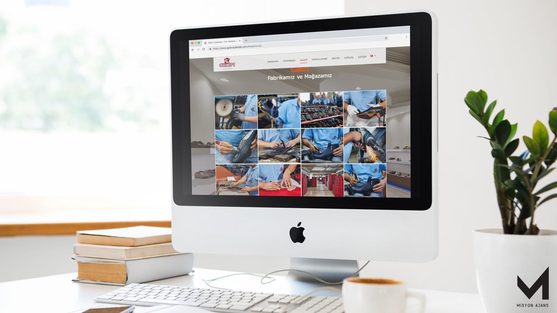 Güler Ayakkabı Web Site Tasarımı