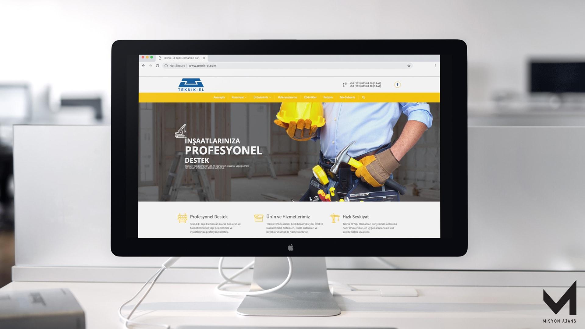 Teknik-El Web Site Tasarım