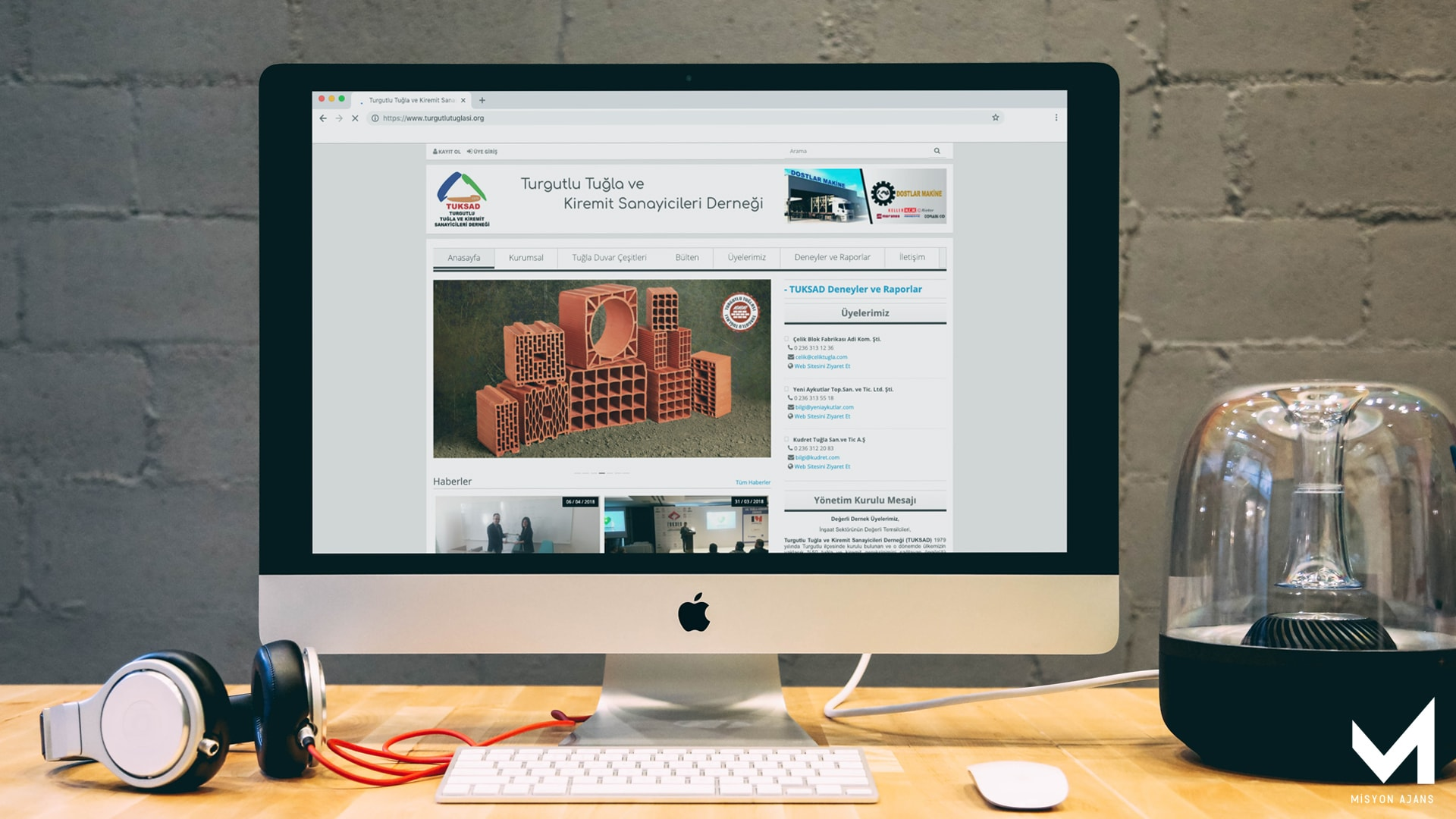 Tuksad Web Site Tasarımı